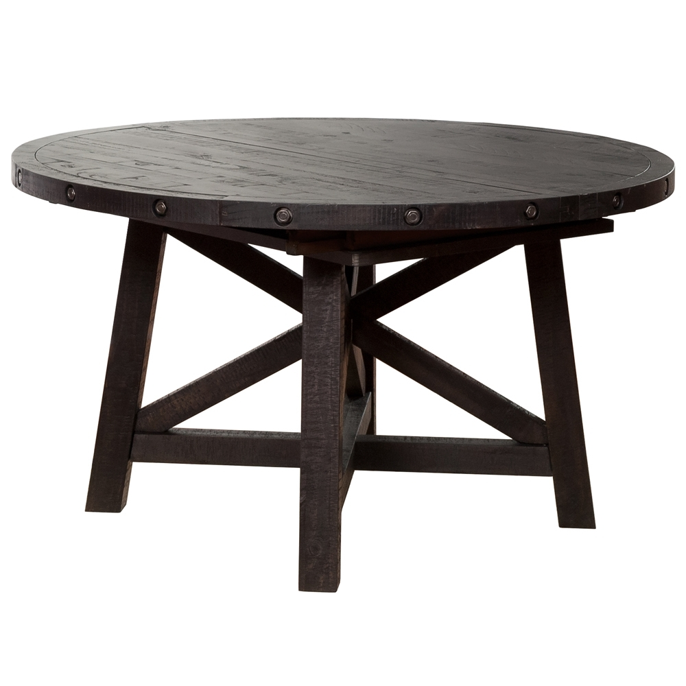 Fashionable Round Extension Dining Table – Lisaasmith Within Jaxon Grey Round Extension Dining Tables (View 20 of 25)