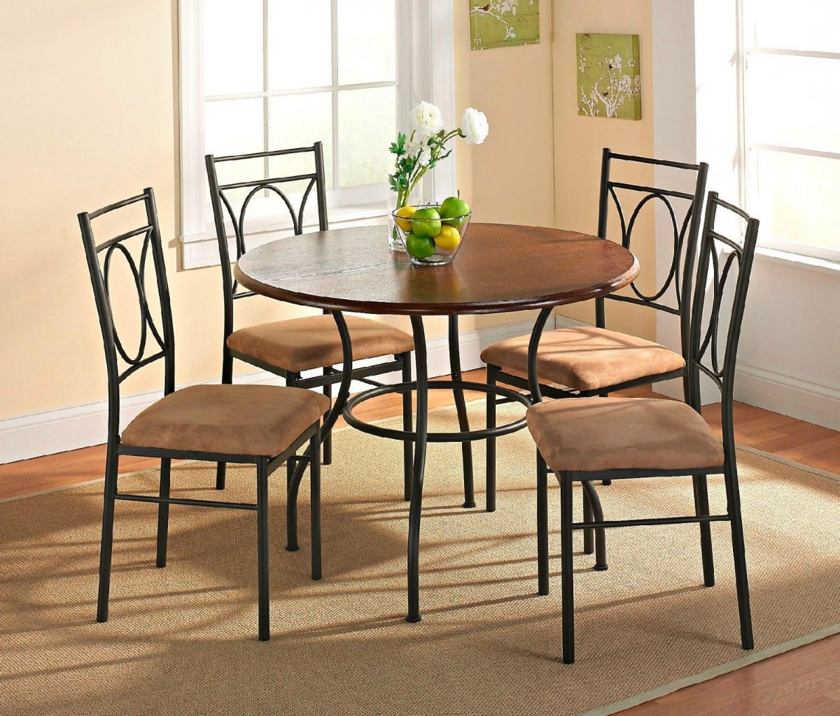 Fashionable Small Dining Tables And Chairs Intended For Small Room Design: Best Small Dining Room Table And Chairs Ashley (View 7 of 25)