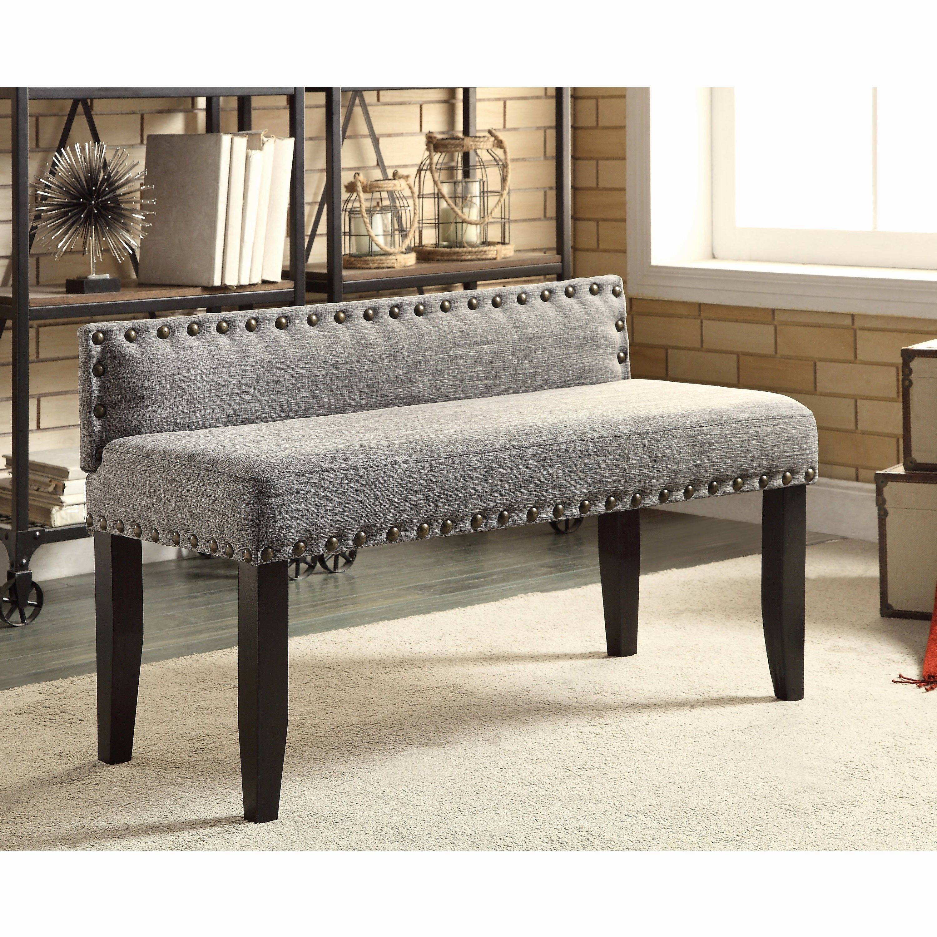 Fashionable Upholstered Dining Table Bench With Back Fresh Probably Fantastic With Regard To Bench With Back For Dining Tables (View 4 of 25)