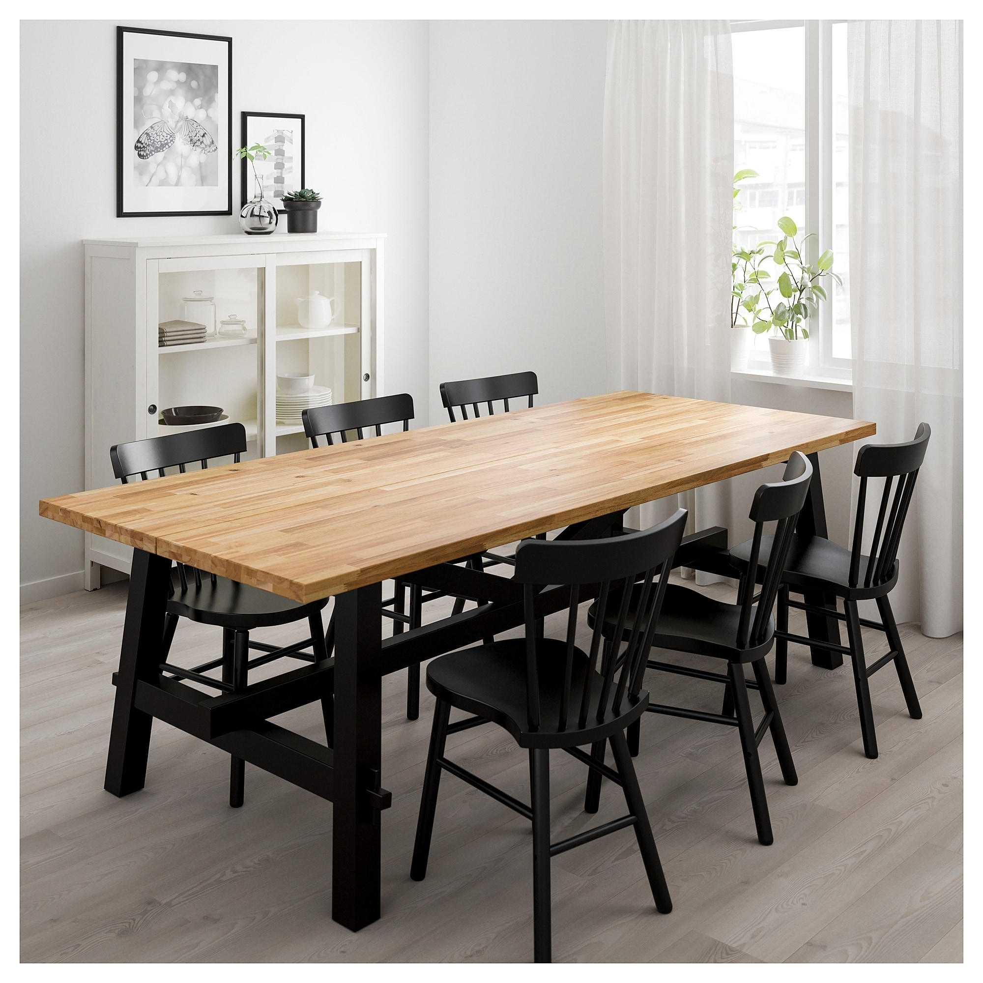 Favorite Acacia Dining Tables Within Skogsta Dining Table Acacia 235 X 100 Cm – Ikea (View 18 of 25)