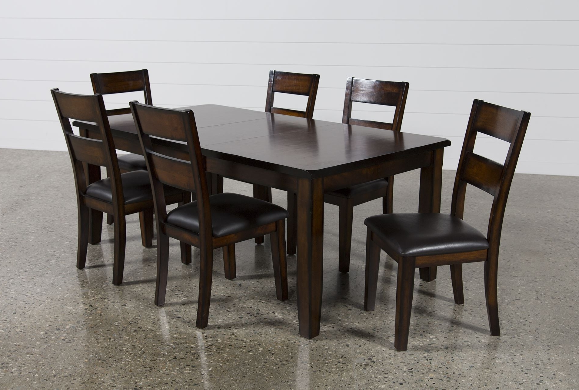 Favorite Bradford 7 Piece Dining Sets With Bardstown Side Chairs Pertaining To Rocco 7 Piece Extension Dining Set (View 14 of 25)