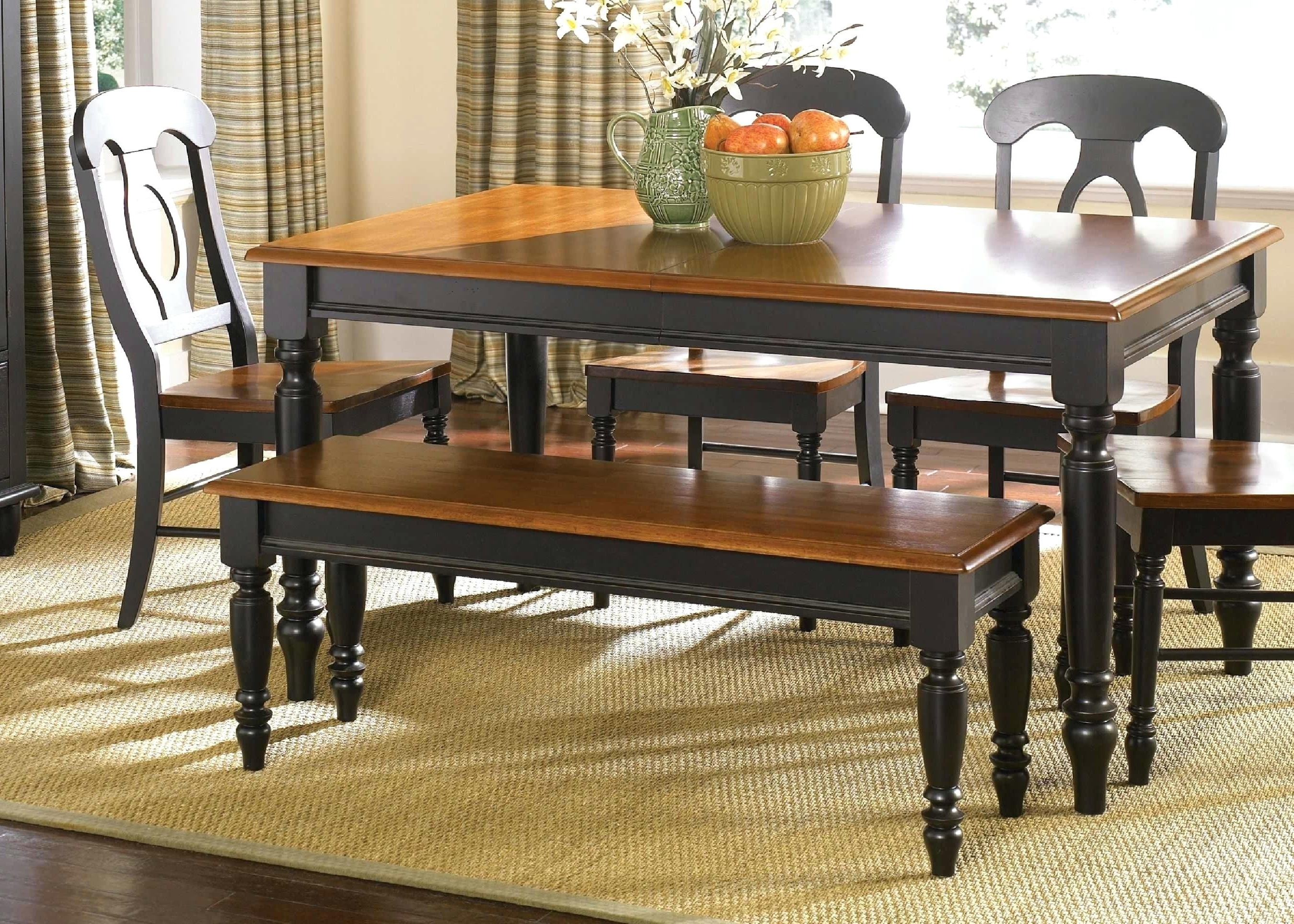Favorite Bradford 7 Piece Dining Sets With Bardstown Side Chairs Throughout Bardstown Dining Set Top Dining Room Table Sets With Bench Crown (View 15 of 25)