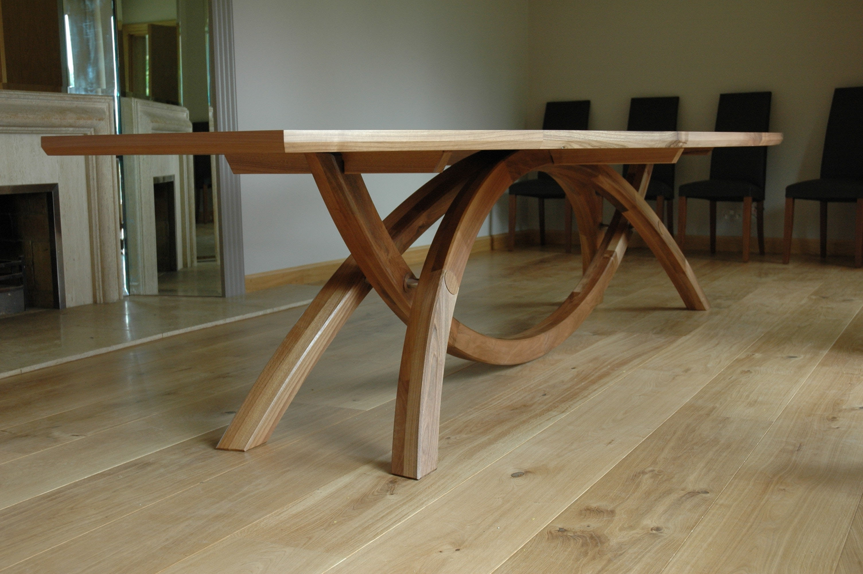 Favorite Burrows Wood Dining Table @ Diary Of A Fine Furniture Maker Pertaining To Extending Dining Tables With 14 Seats (View 14 of 25)