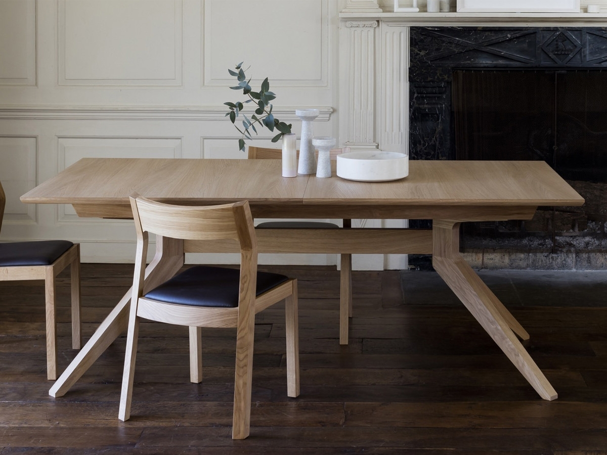 Favorite Buy The Case Furniture Cross Extending Dining Table At Nest.co (View 6 of 25)
