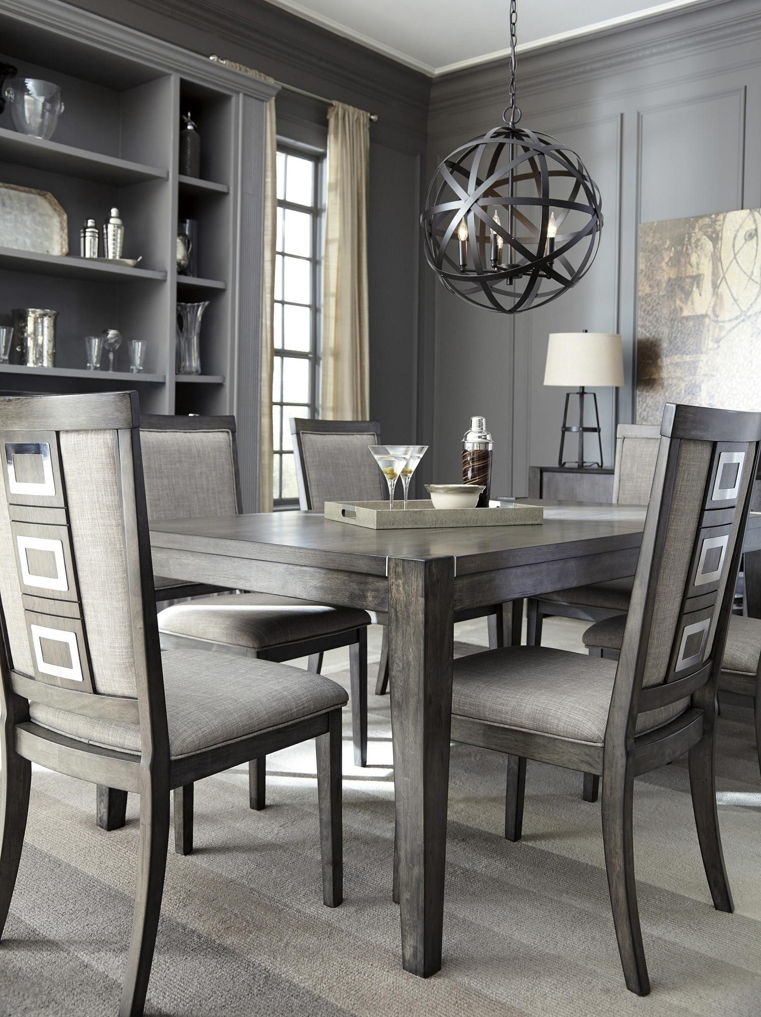 Favorite Candice Ii 7 Piece Extension Rectangle Dining Sets With Regard To Chadoni Rectangular Dining Room Extension Table In Gray (View 18 of 25)