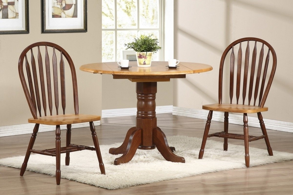 Favorite Cream Lacquer Dining Tables With Regard To Modern Drop Leaf Kitchen Table Wooden Chair Brown Mahogany Materials (View 19 of 25)