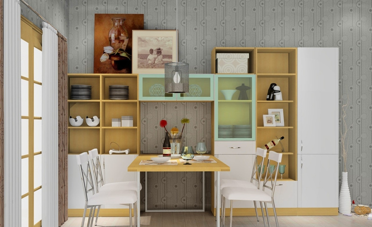 Favorite Dining Room Cabinets Intended For Dining Room Storage Cabinets Contemporary — Bluehawkboosters Home Design (View 8 of 25)