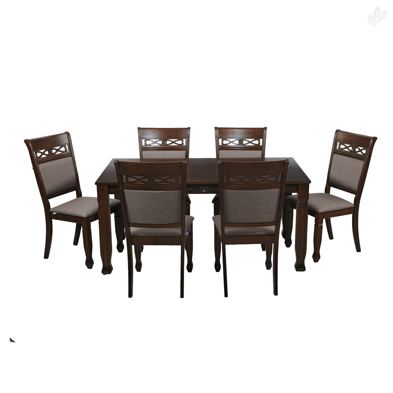 Favorite Dining Tables And Six Chairs In Iris Dining Table – 6 Seater – Mysore Furniture (View 16 of 25)