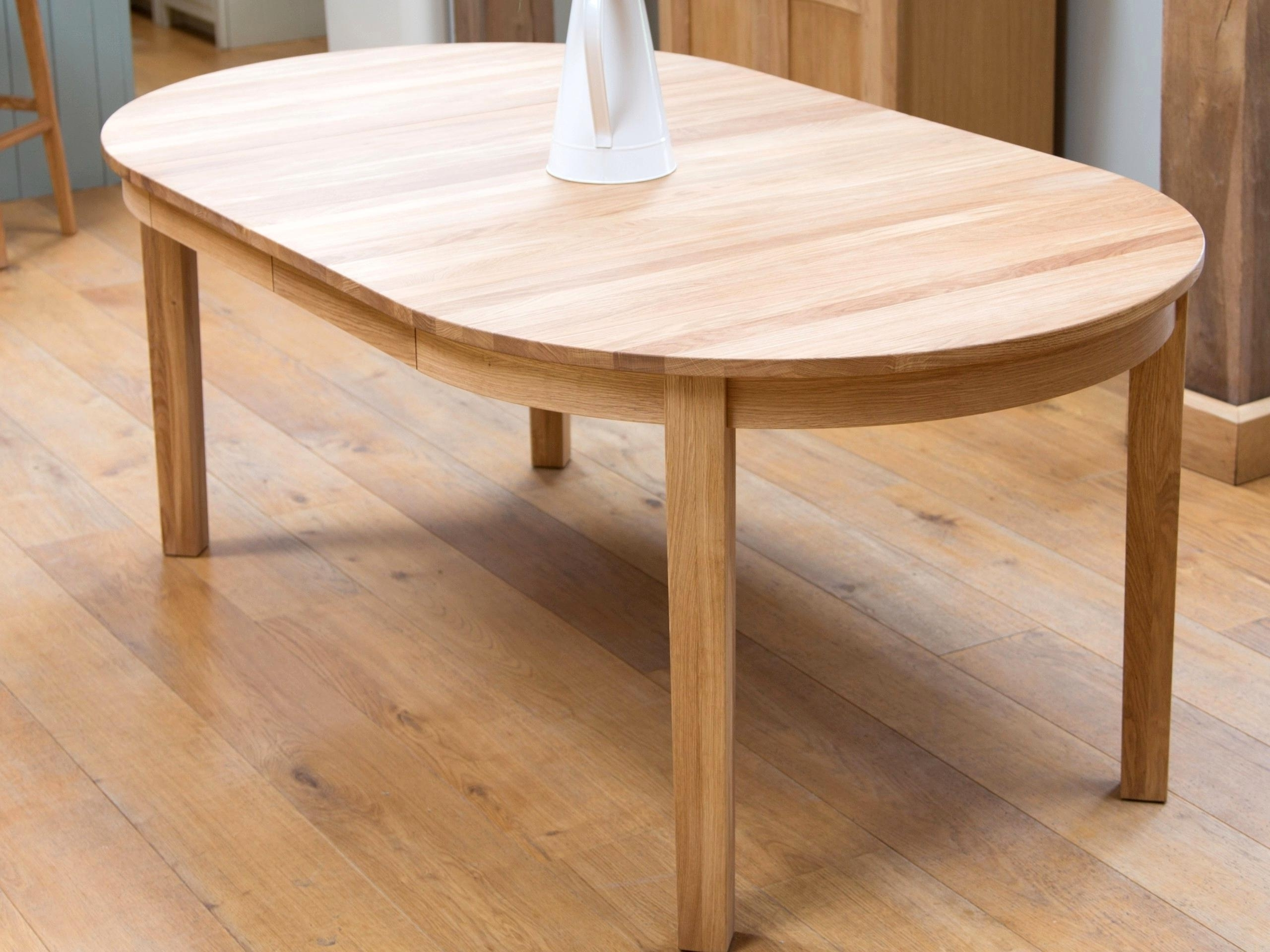 Favorite Enjoyable Extending Solid Oak Dining Table Round Extendable Dining Pertaining To Round Extending Oak Dining Tables And Chairs (View 7 of 25)