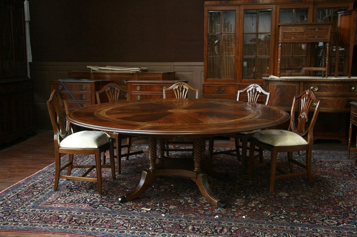 Favorite Jaxon Round Extension Dining Tables In Dining Tables: Extraordinary Round Dining Table With Extension (View 6 of 25)