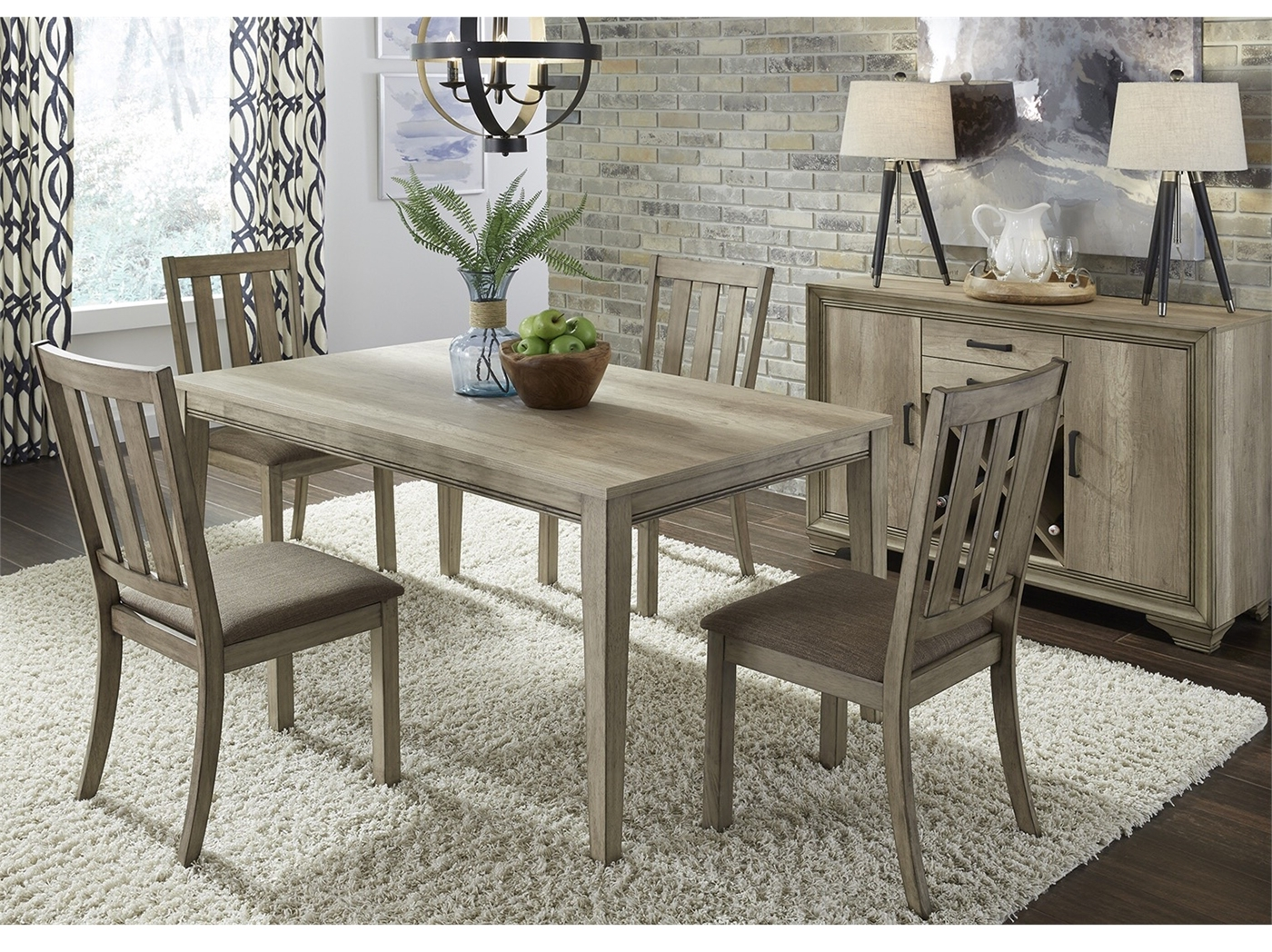 Favorite Laurent 5 Piece Round Dining Sets With Wood Chairs With Dining – Dining Sets (View 6 of 25)