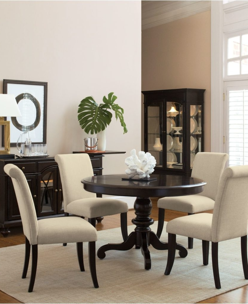 Favorite Macie 5 Piece Round Dining Sets Throughout Kitchen : Macys Dining Furniture Macys Chairs Dining Macys Bedding (View 22 of 25)