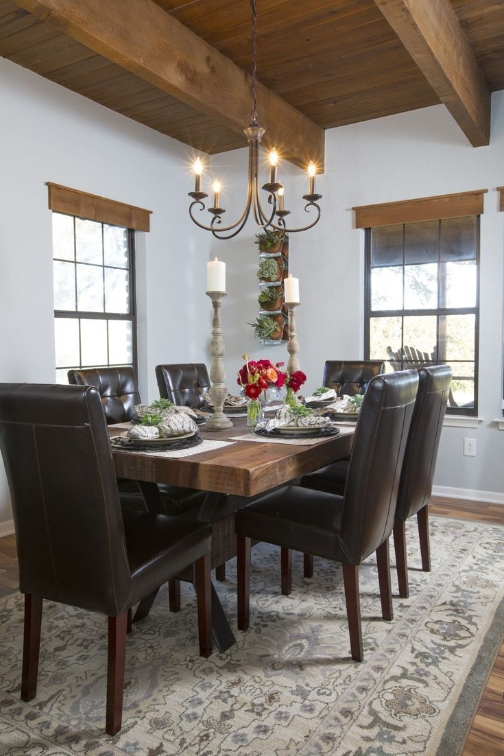 Favorite Magnolia Home Prairie Dining Tables For Wooden Valance On Fixer Upper – Google Search (View 4 of 25)