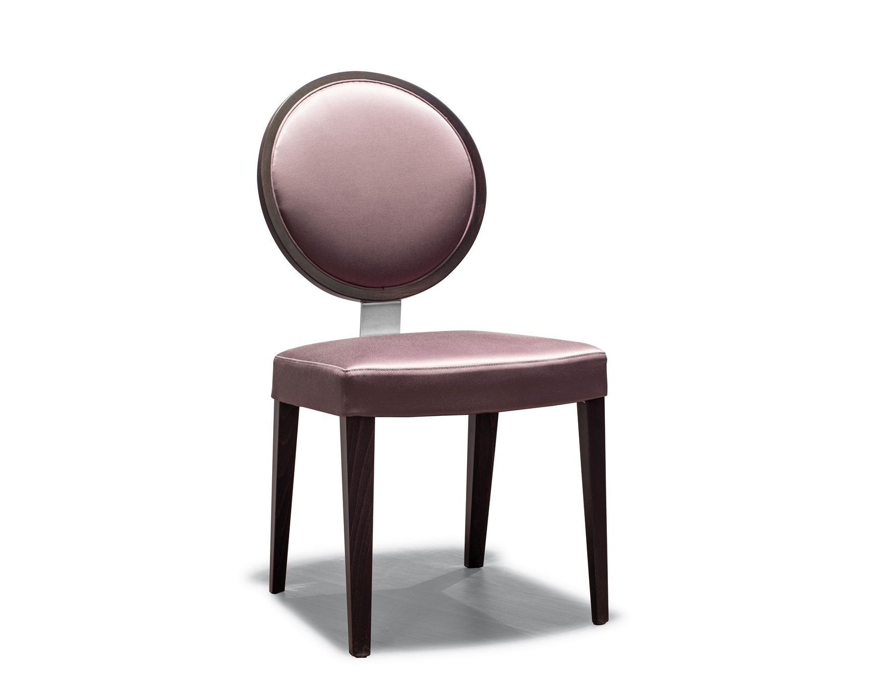 Favorite Nella Vetrina Costantini Resort 1 Side Chair Round Purple Leather Back In Purple Faux Leather Dining Chairs (View 7 of 25)