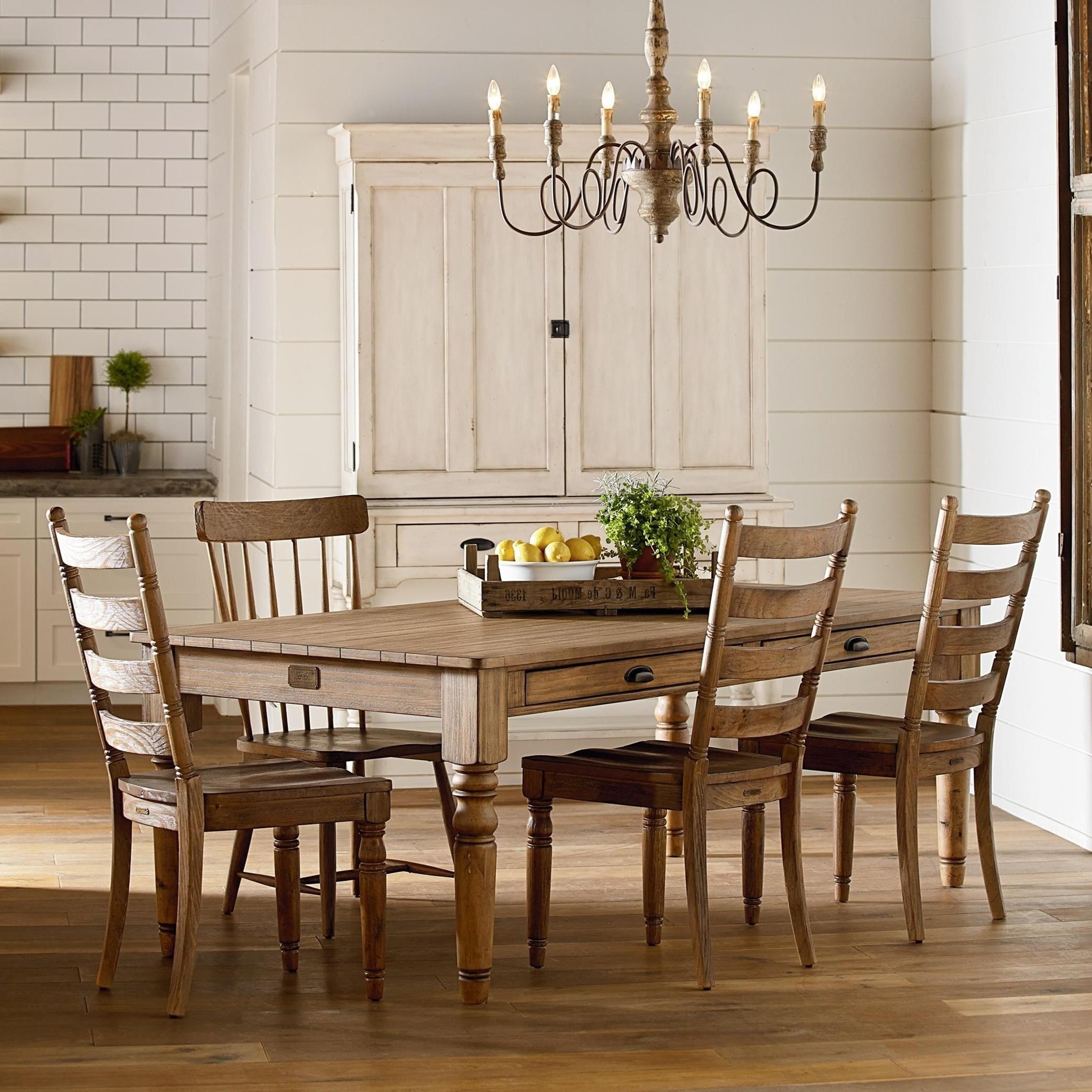 Favorite Primitive Dining Room Groupmagnolia Homejoanna Gaines (View 6 of 25)