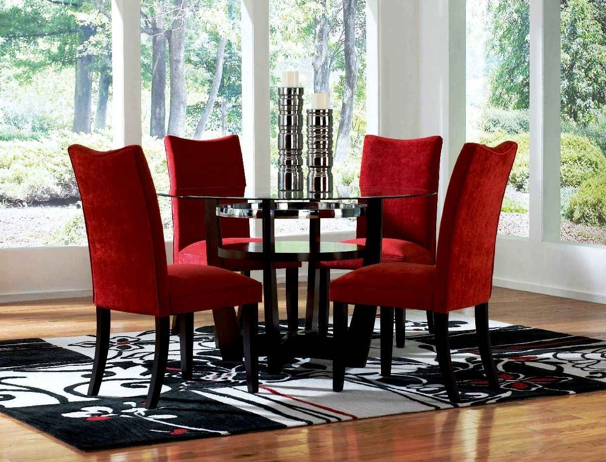 Favorite Red Dining Chairs For Your Dining Rooms – Home Decor Ideas Inside Red Dining Tables And Chairs (View 6 of 25)