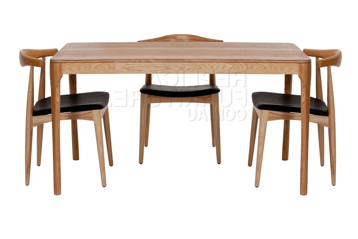 Favorite Replica Danish Dining Table With Distressed Wood – Replica Furniture With Regard To Danish Dining Tables (View 14 of 25)