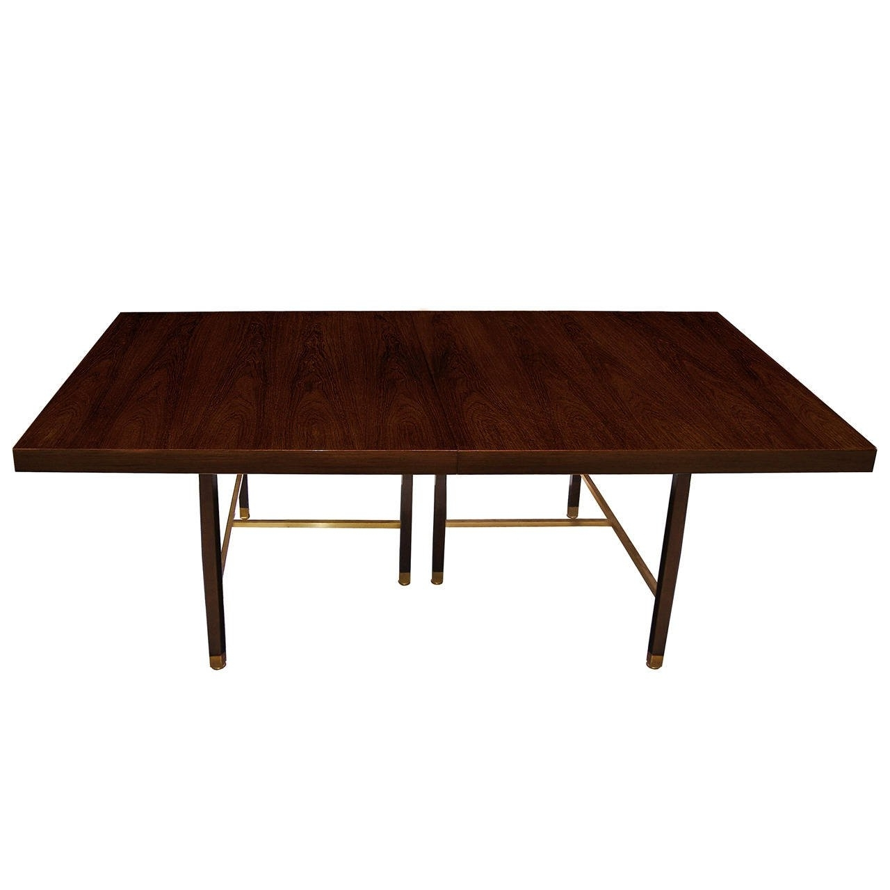 Favorite Rosewood And Brass Dining Tableharvey Probber For Sale At 1Stdibs Within Harvey Dining Tables (View 6 of 25)