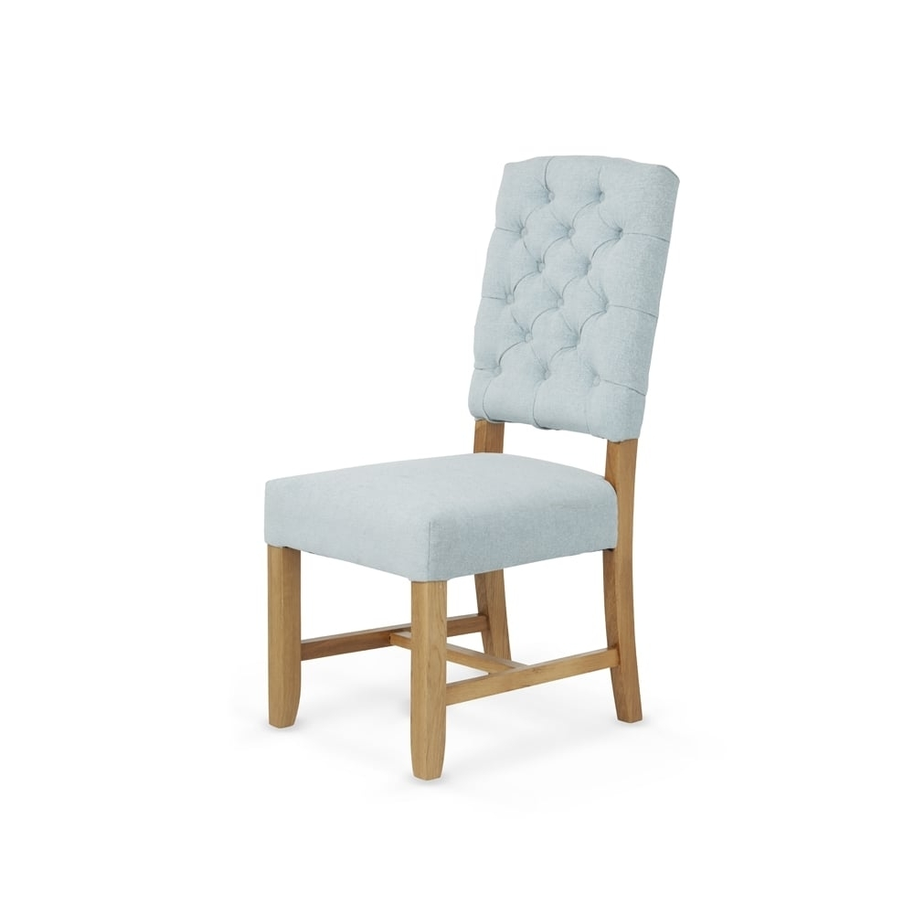 Favorite Serene Living Belmont Fabric Dining Chairs Solid Oak Legs (Pair) Within Fabric Dining Chairs (View 25 of 25)
