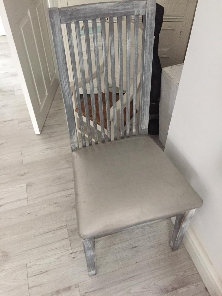 Favorite Shabby Chic Dining Chairs Inside Shabby Chic Dining Chairs (View 17 of 25)