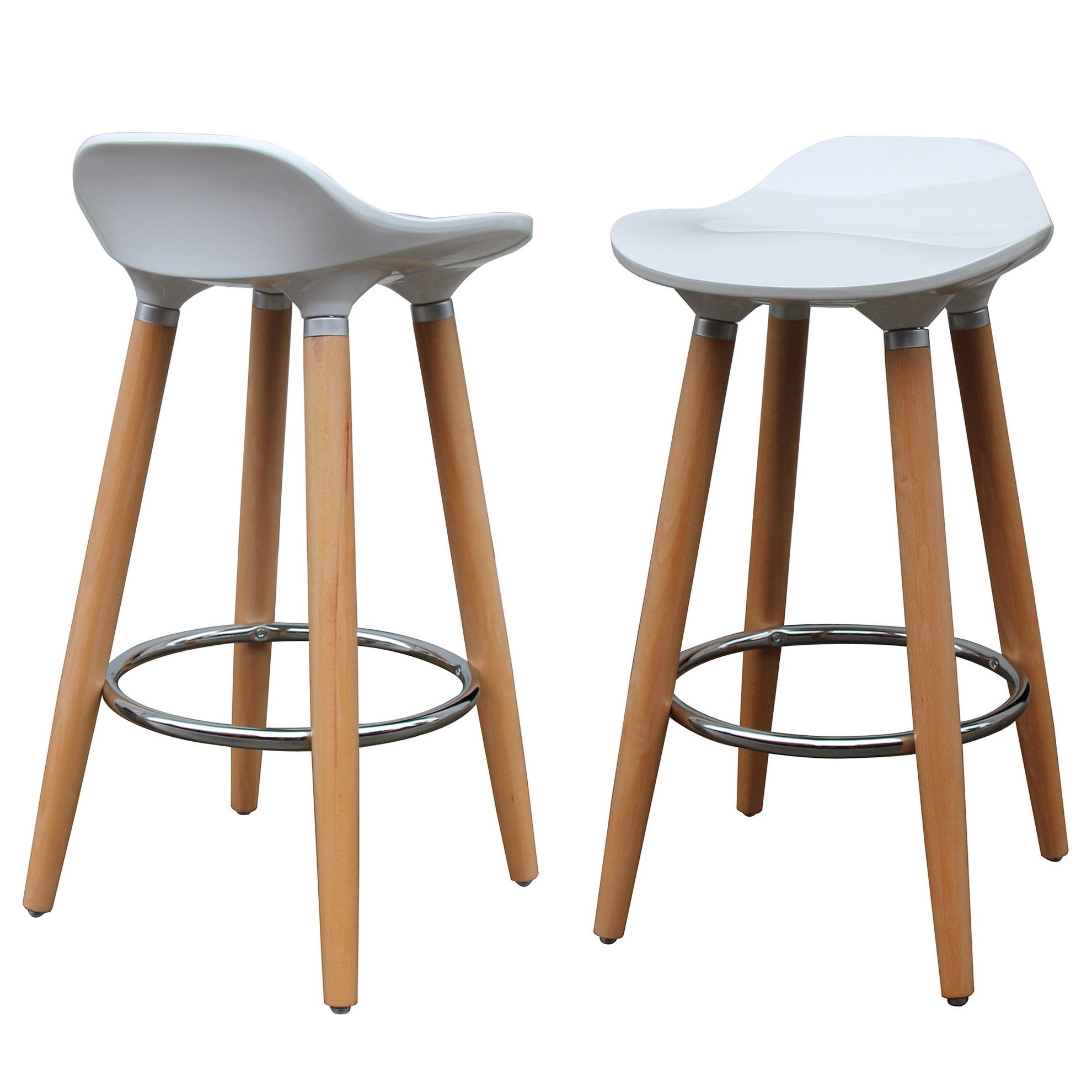 Favorite Shop Trex 26 Inch Counter Stool (Set Of 2) – Free Shipping Today With Laurent 7 Piece Counter Sets With Wood Counterstools (View 6 of 25)