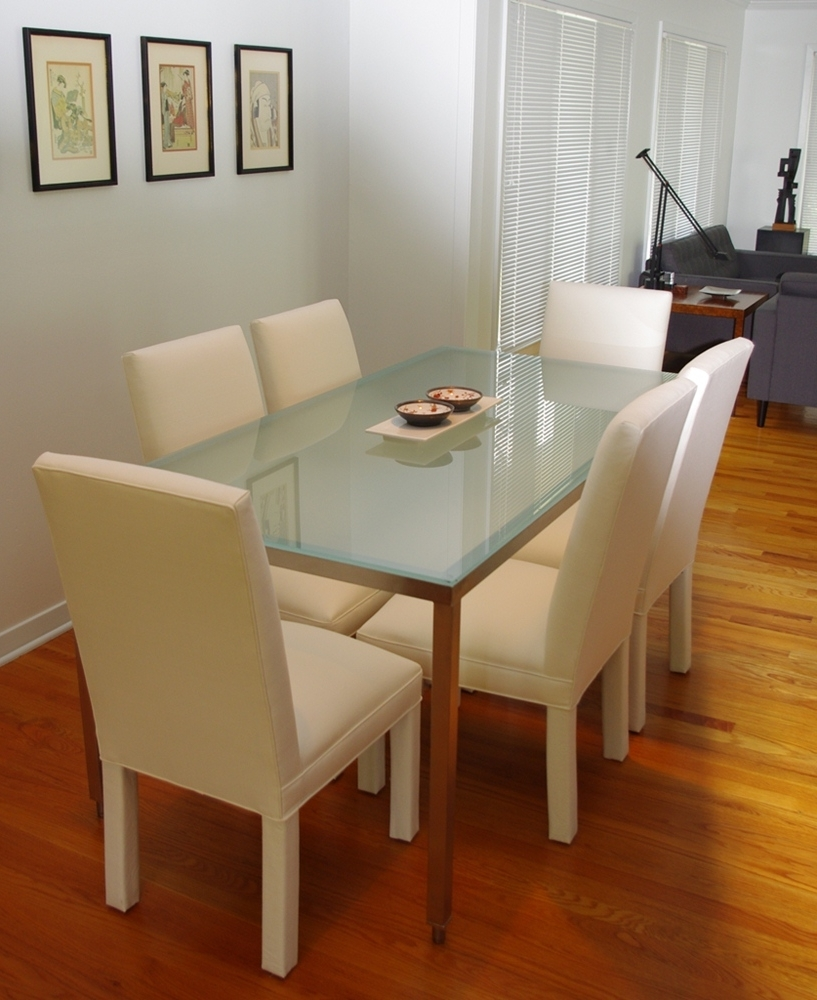Favorite Smoked Glass Dining Tables And Chairs Within Pk Steel Designs – Products (View 4 of 25)