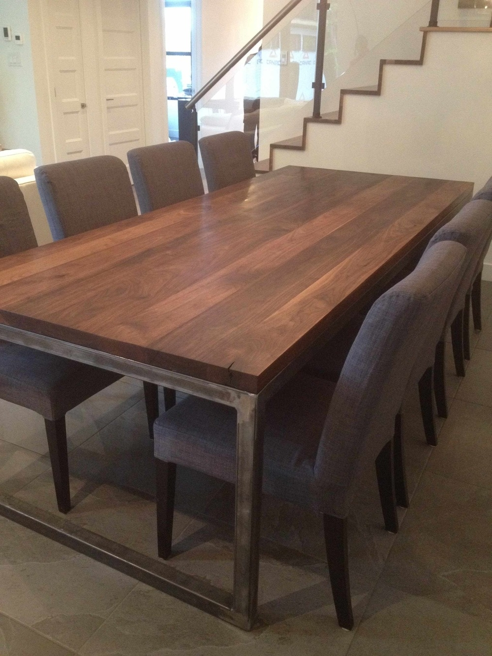 Favorite Walnut Dining Tables In Live Edge Black Walnut Dining Table — Bois & Design – Custom Made (View 10 of 25)