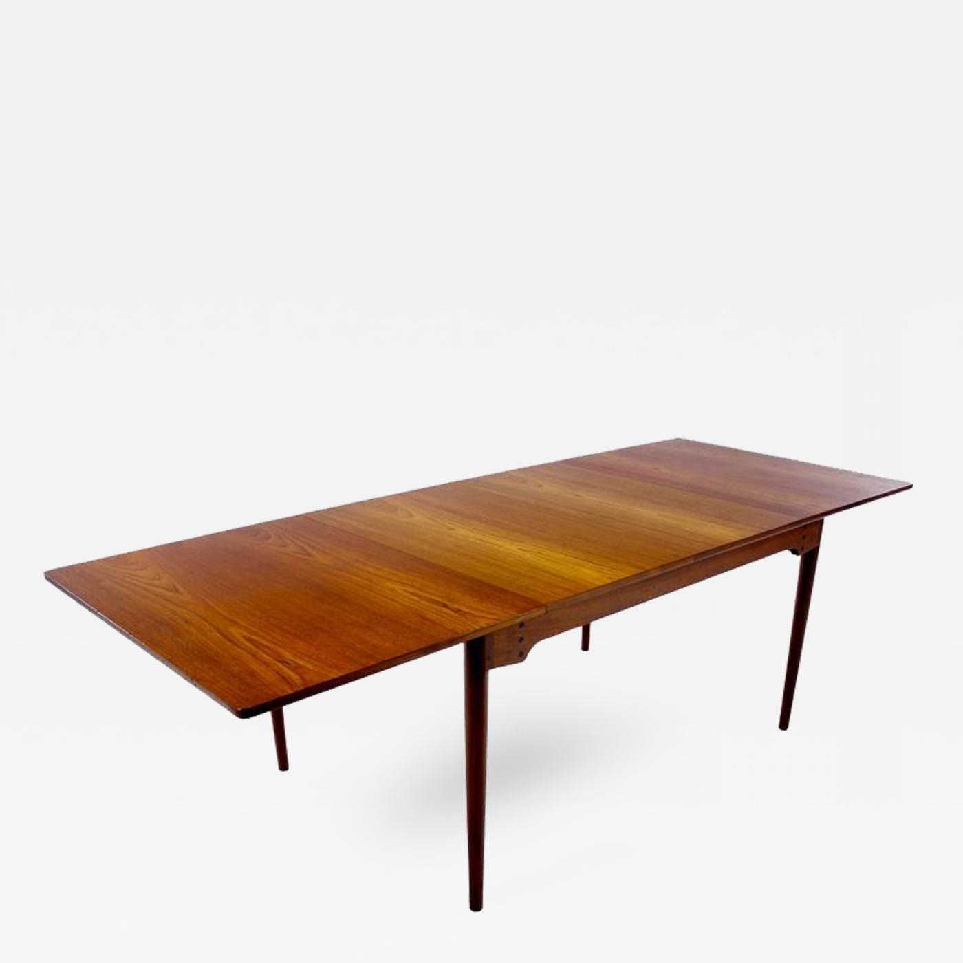 Finn Juhl – Danish Modern Teak Dining Table Designedfinn Juhl Pertaining To Most Popular Danish Dining Tables (View 15 of 25)