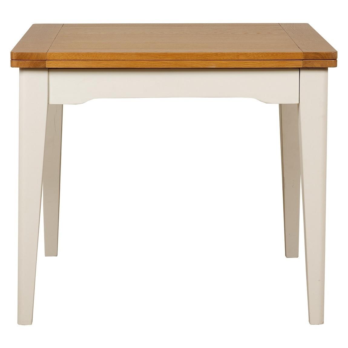 Flip Top Oak Dining Tables For Latest Cottage Oak And Painted Flip Top Dining Table (View 5 of 25)