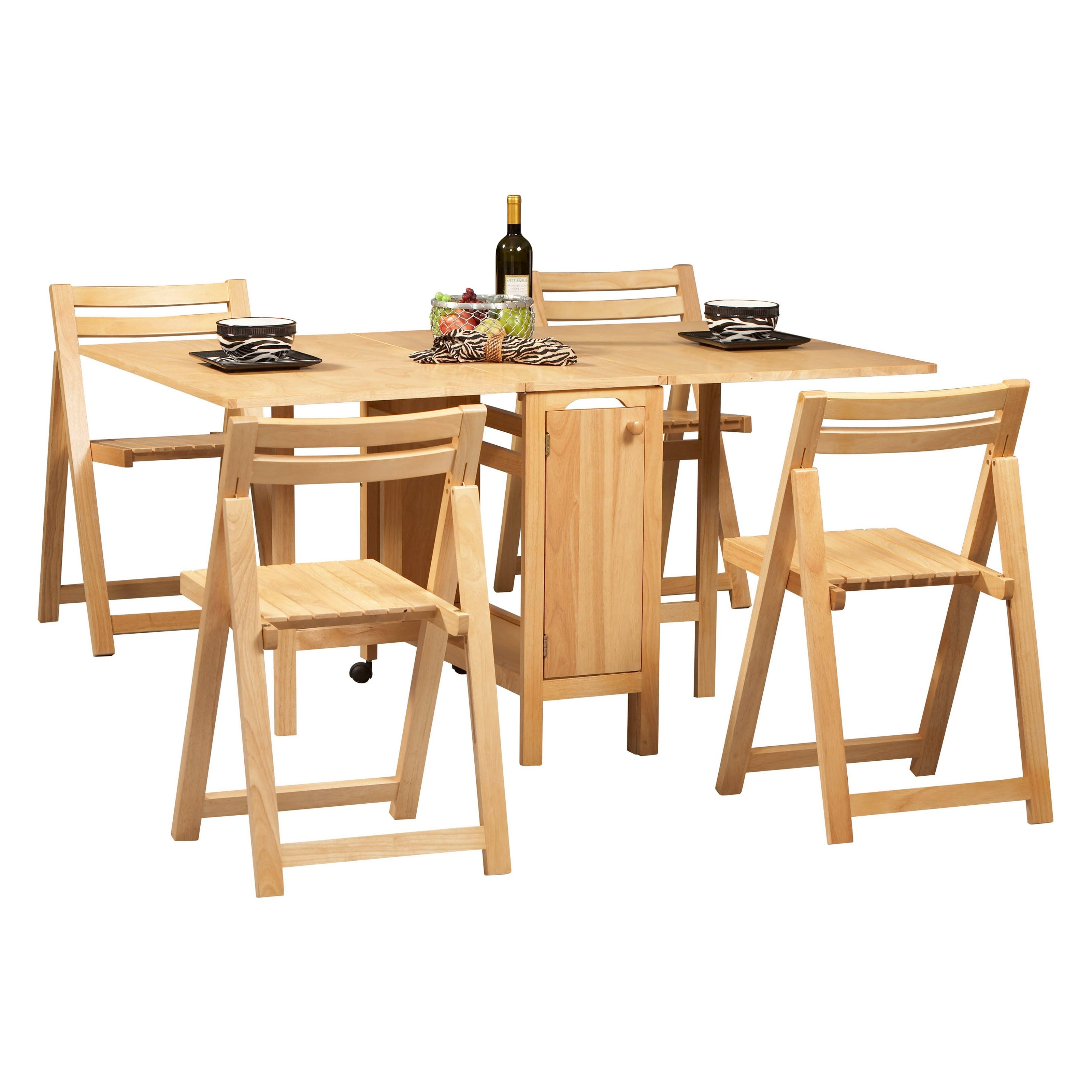 Folding Dining Table And Chairs Sets Intended For Most Current Folding Dining Table Sets – Castrophotos (View 2 of 25)
