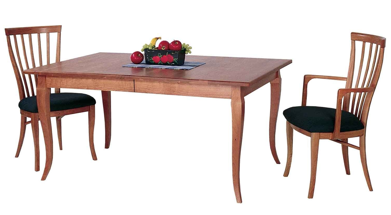 French Country Dining Tables Inside 2018 Circle Furniture – French Country Dining Table In Cherry (View 17 of 25)