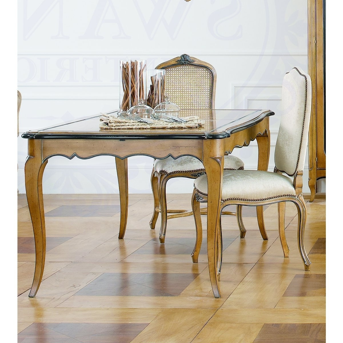 French Extending Dining Tables Pertaining To Trendy Extending Dining Table In French Style (View 13 of 25)