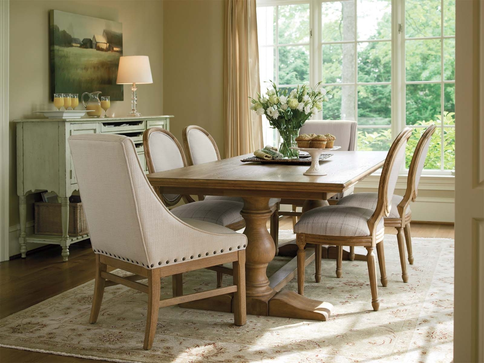 French Farmhouse Dining Tables In Well Liked  (View 11 of 25)