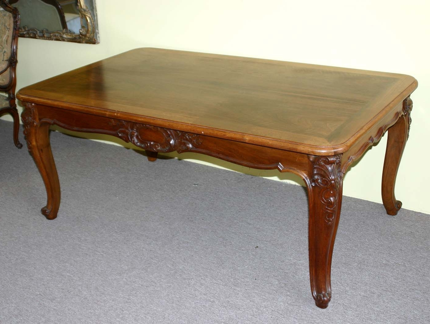 French, Louis Xv Style, Extension Dining Table Intended For Most Current French Extending Dining Tables (View 3 of 25)