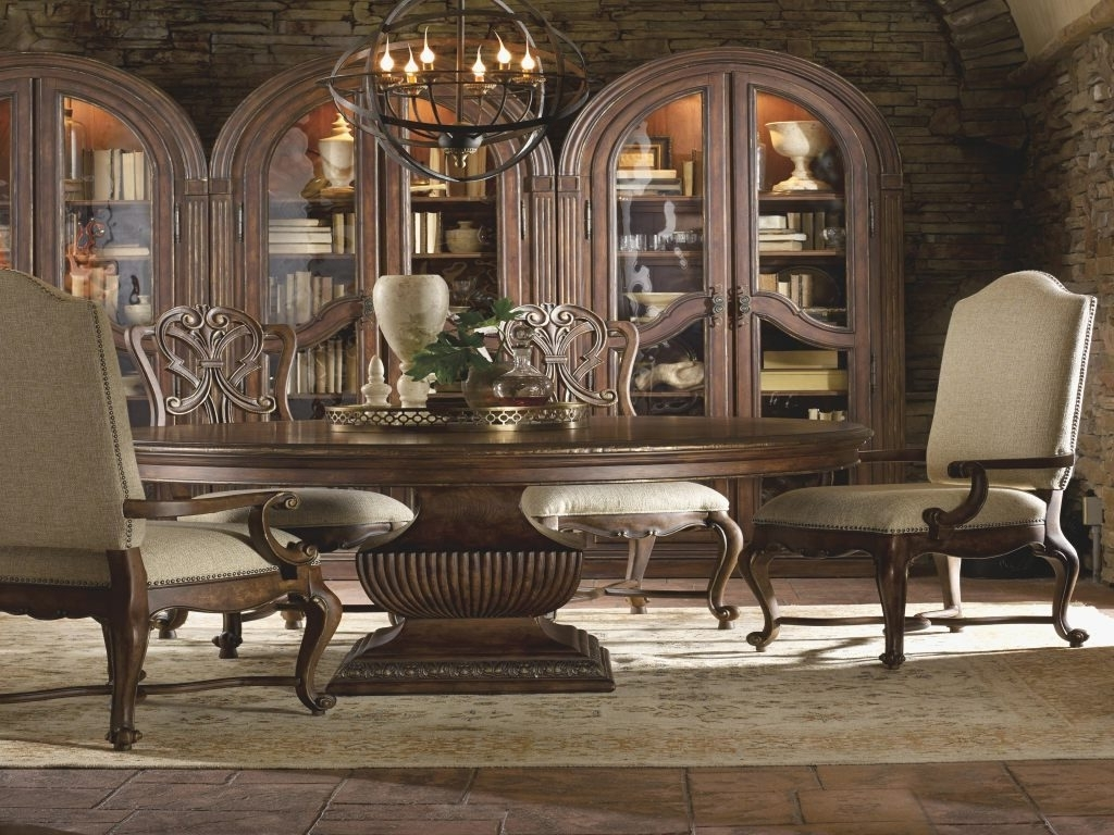 Furniture: 72 Inch Dining Table Awesome Hooker Furniture Adagio For Widely Used Valencia 72 Inch Extension Trestle Dining Tables (View 6 of 25)