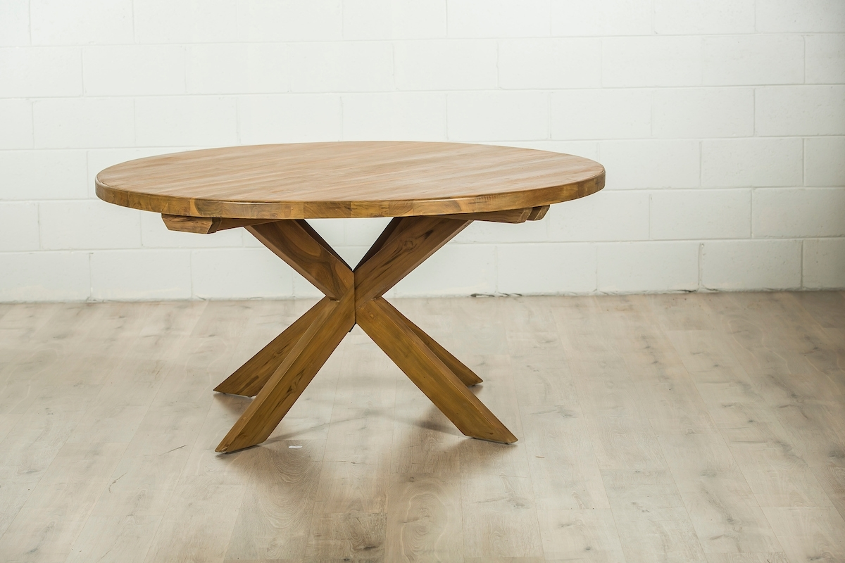 Furniture Brisbane & Gold Coast Regarding Round Teak Dining Tables (View 7 of 25)