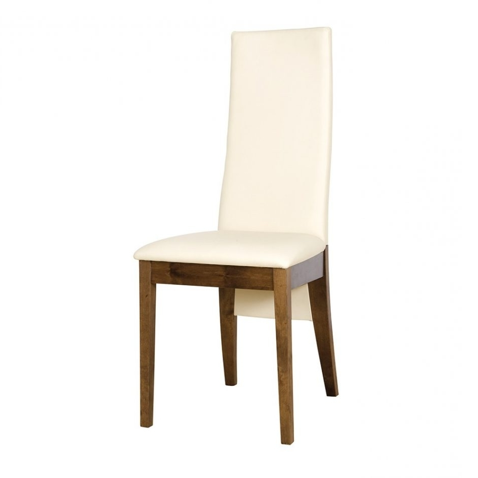 Furniture Cream Leather Dining Chair With Oak Legs Liffey Solid Oak With Regard To Most Current Cream Leather Dining Chairs (View 15 of 25)
