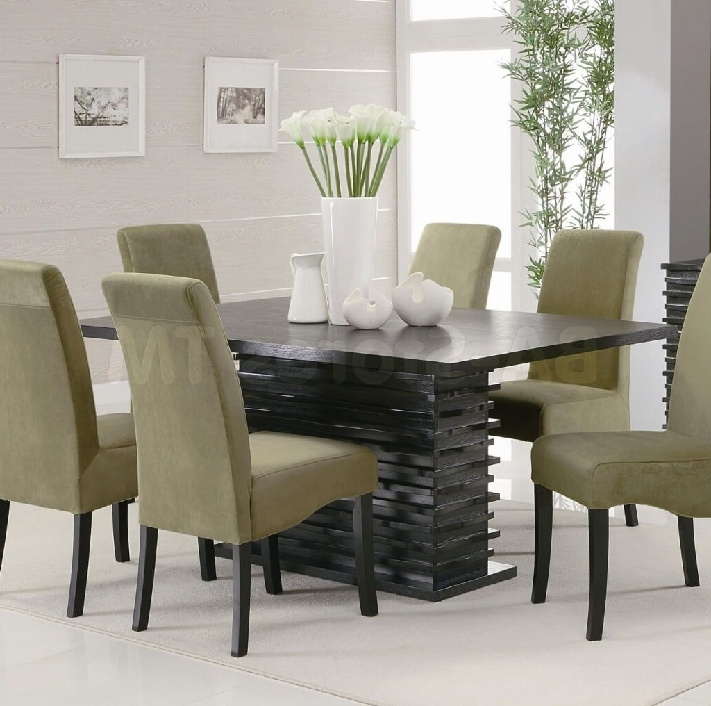 Furniture: Selecting The Right Modern Dining Table Sets – Modern Regarding Recent Contemporary Dining Tables Sets (View 12 of 25)