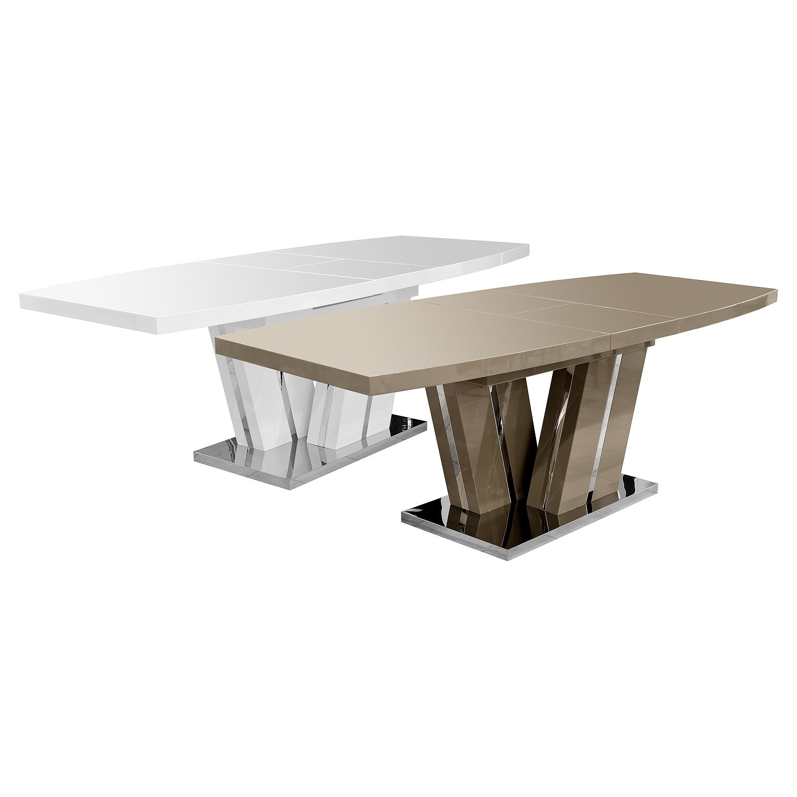 Geremia Extending High Gloss Dining Table – Be Fabulous! Throughout Best And Newest High Gloss Extending Dining Tables (View 13 of 25)