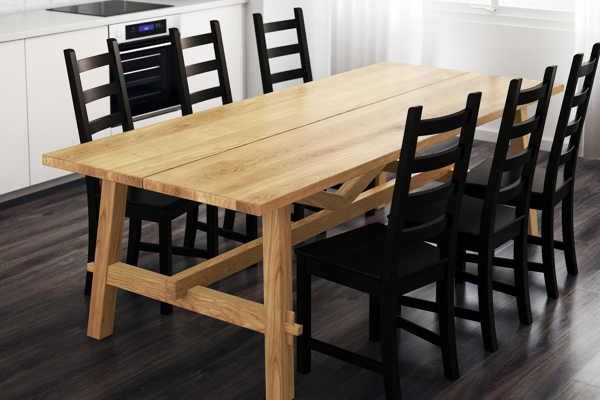 Get The Best Wood Table For Dining – Furnish Ideas Regarding Well Known Teagan Extension Dining Tables (View 16 of 25)