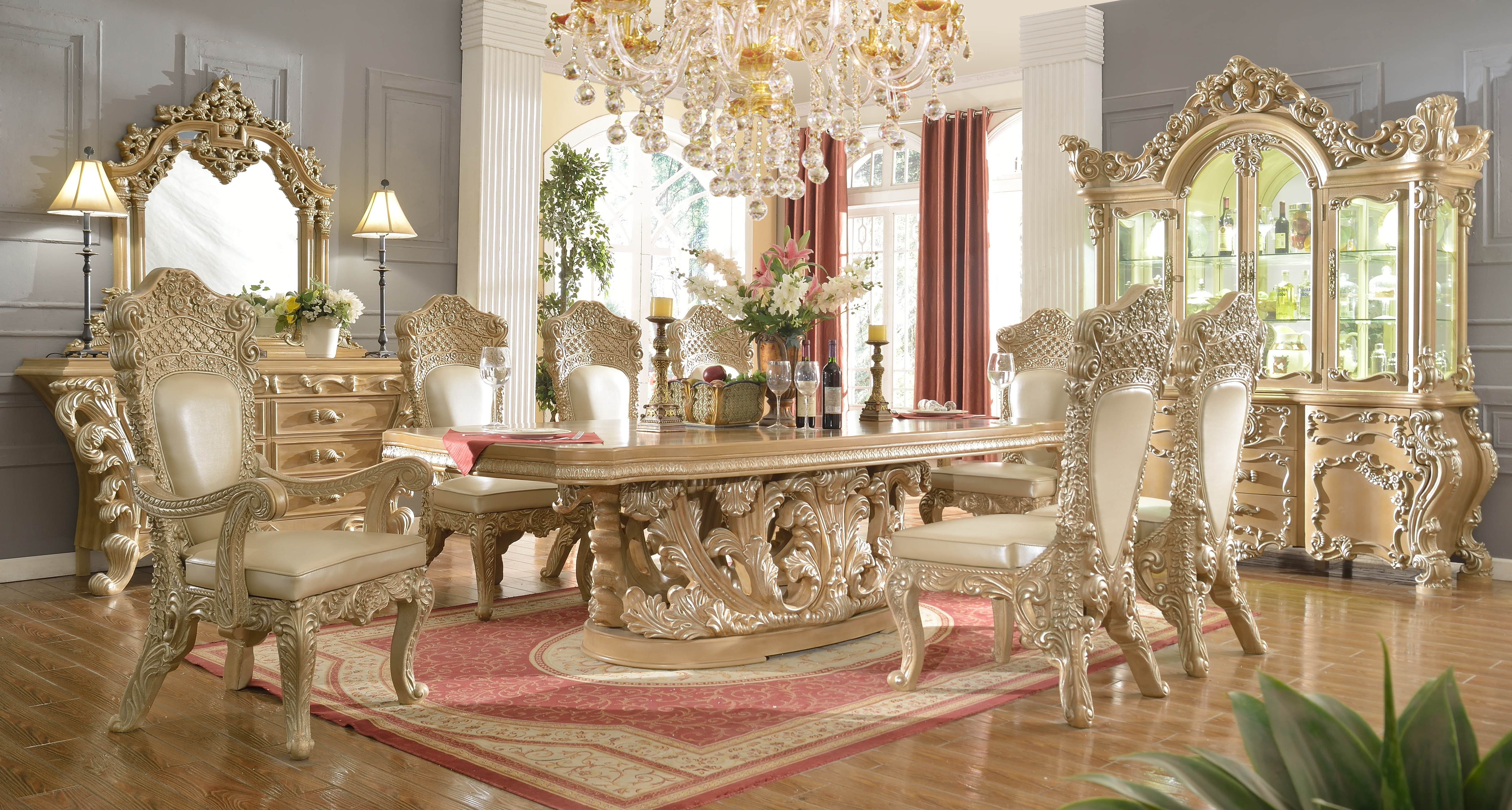 Glamorous As A Princess Dining Table – Buy Furniture In La Inside Trendy Royal Dining Tables (View 5 of 25)