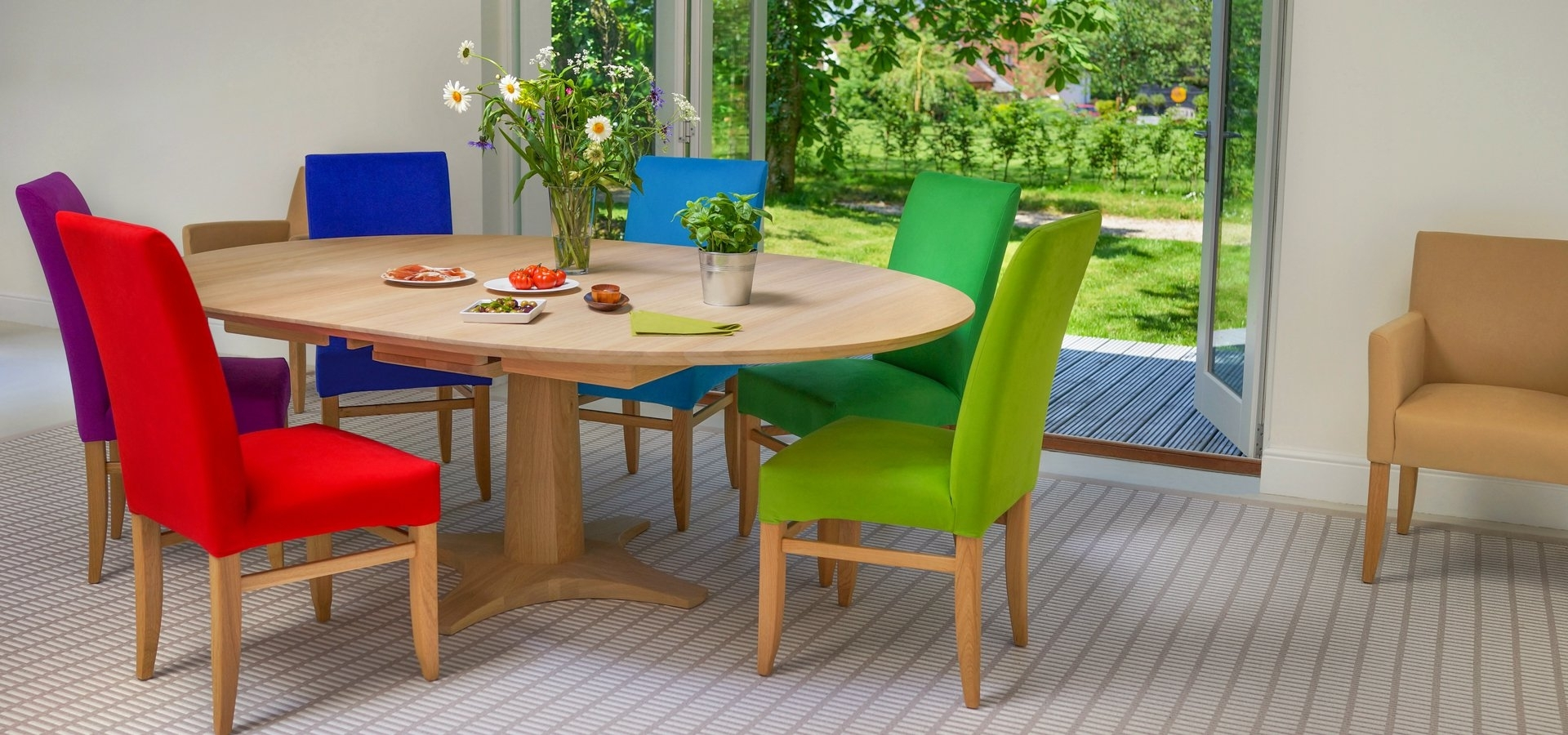 Glasgow Dining Sets For 2017 Contemporary Dining Tables & Furnitureberrydesign (View 23 of 25)