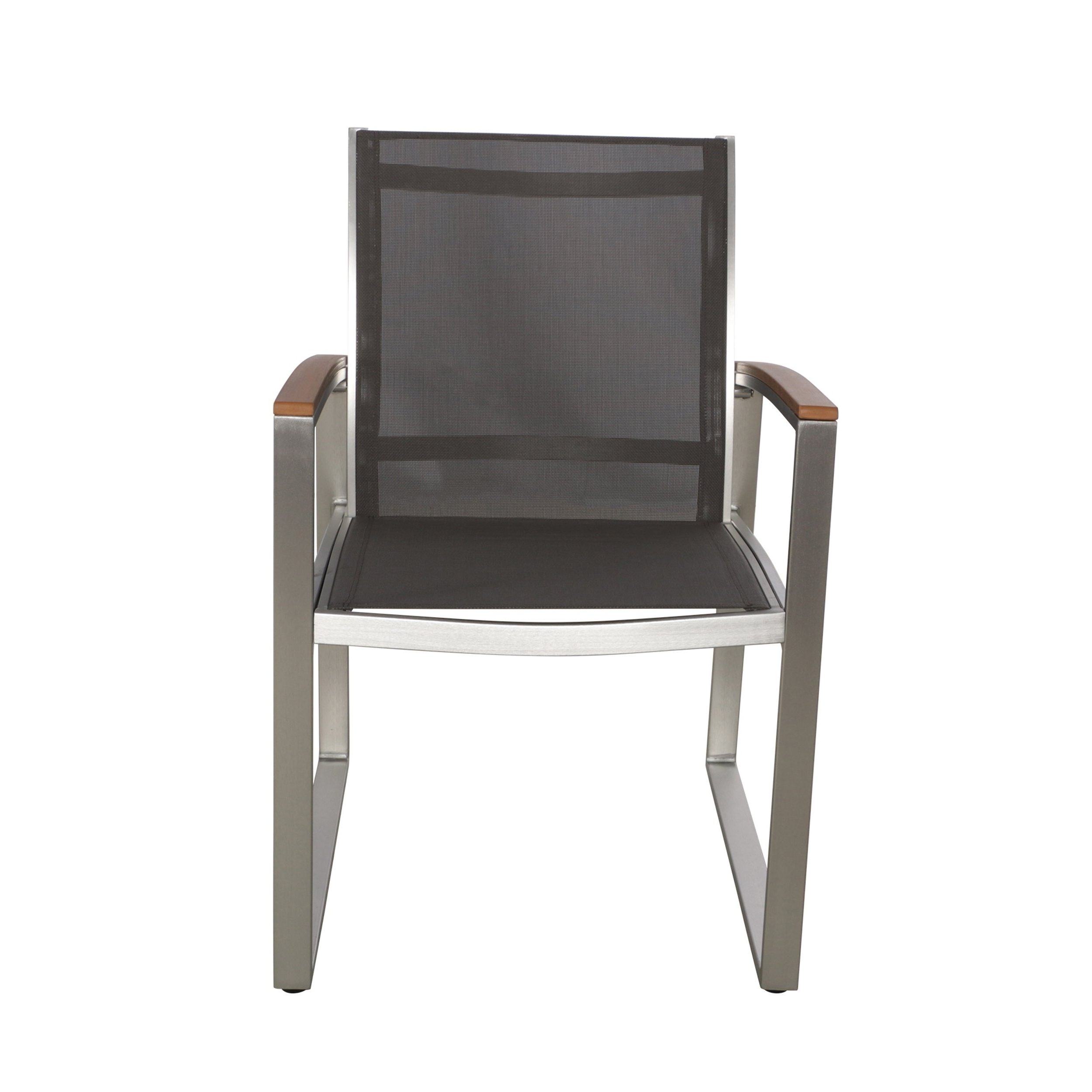 Glasgow Dining Sets Throughout Newest Shop Glasgow Outdoor Dining Chairs With Aluminum Frame (Set Of 2) (View 25 of 25)