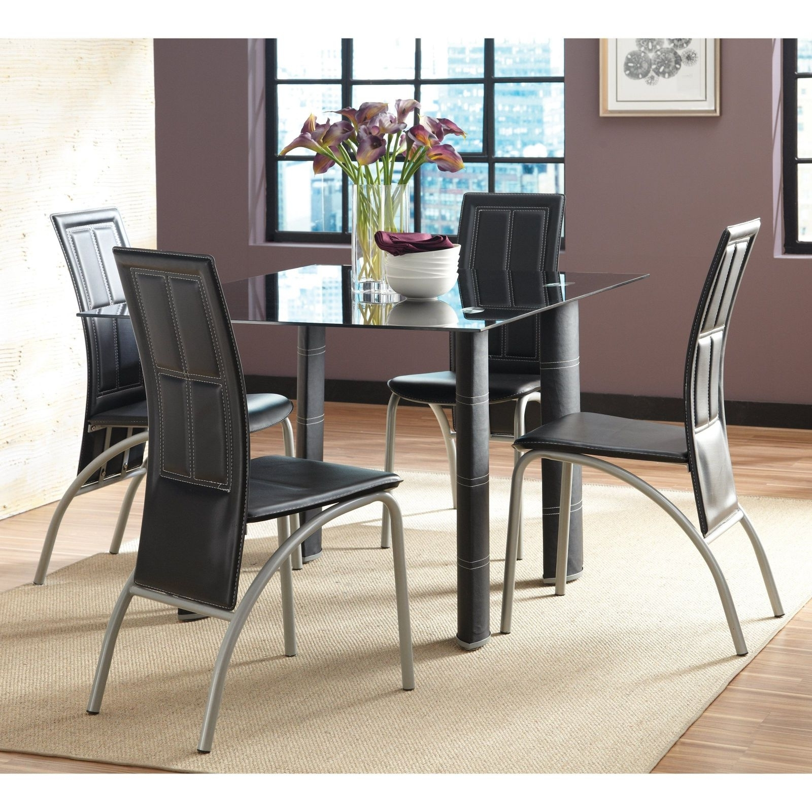 Glass Dining Tables Sets Regarding 2018 The Best Amazing Glass Dining Room Table Set Architecture On Pic For (View 12 of 25)