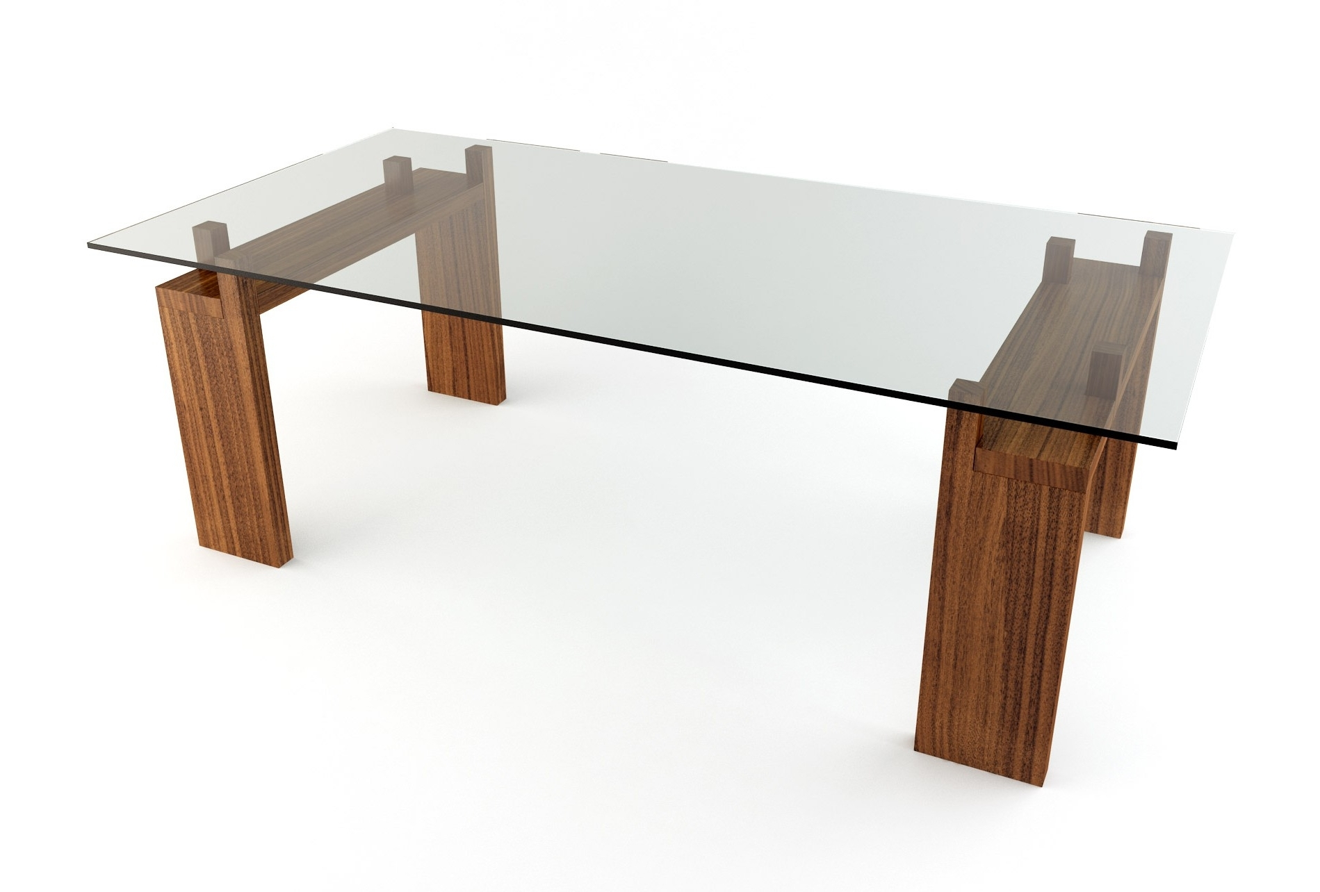 Glass Dining Tables With Wooden Legs For Current Dining Tables (View 21 of 25)
