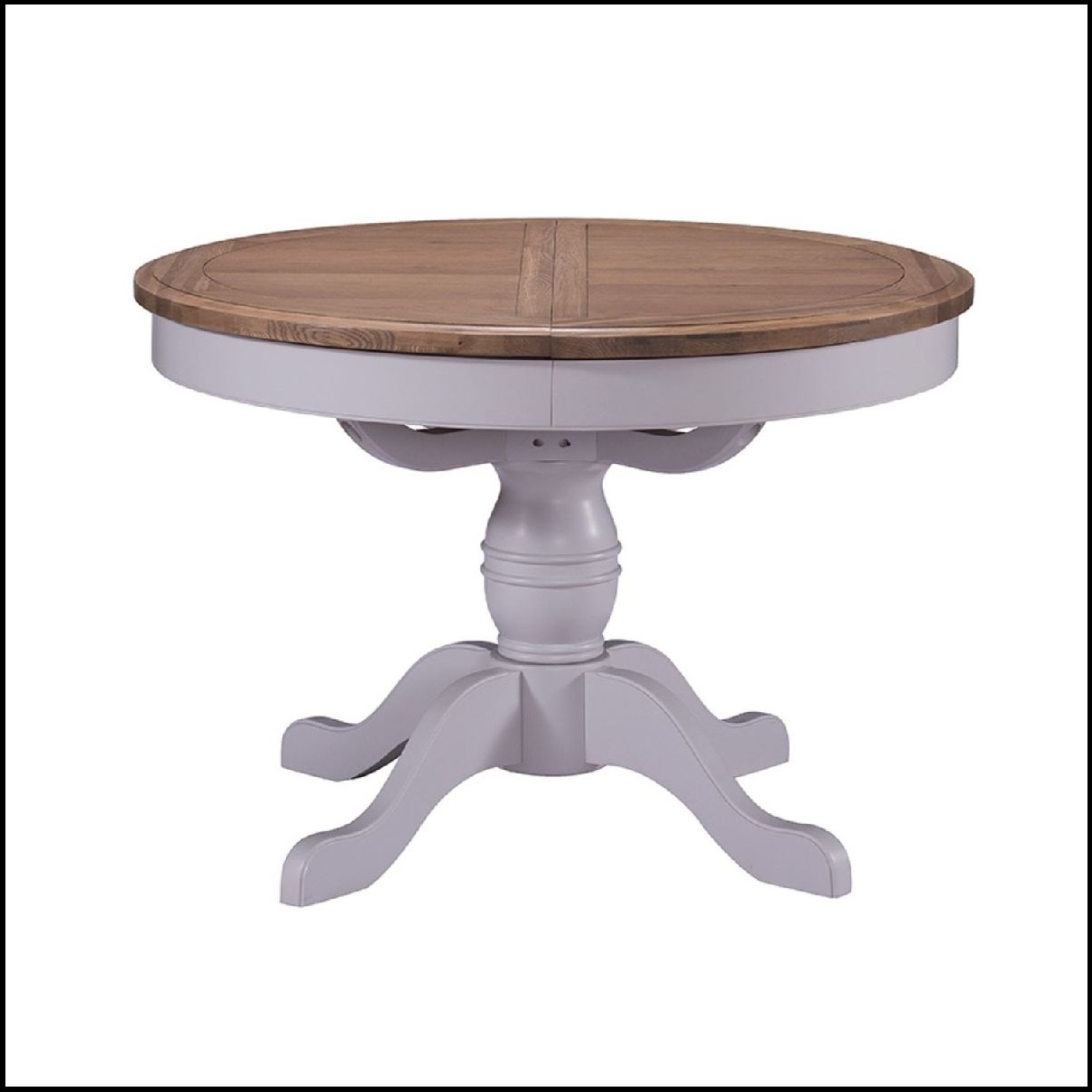 Glass Round Extending Dining Tables intended for Preferred Beautifull Royal Oak Round Glass Dining Table With Round Extendable