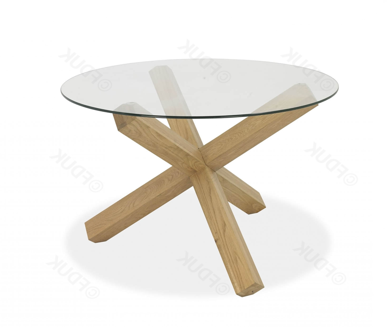 Glass Top Oak Dining Tables with Famous Bentley Designs Turin