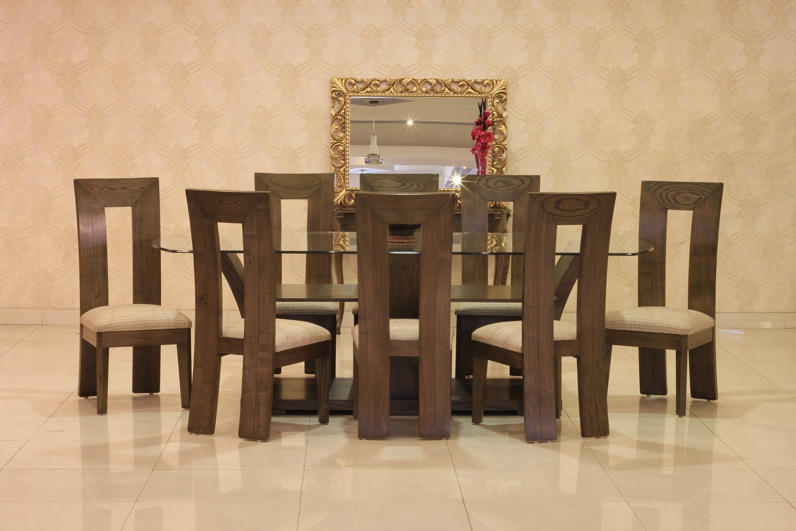 Gmc Regarding Popular Dining Tables 8 Chairs Set (Gallery 20 of 25)
