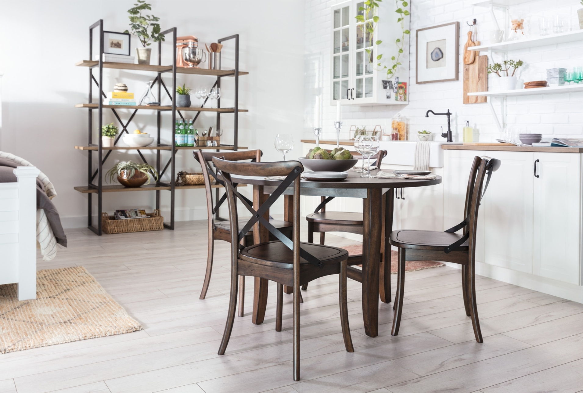 Grady Round Dining Tables Throughout Favorite Grady 5 Piece Round Dining Set (View 13 of 25)