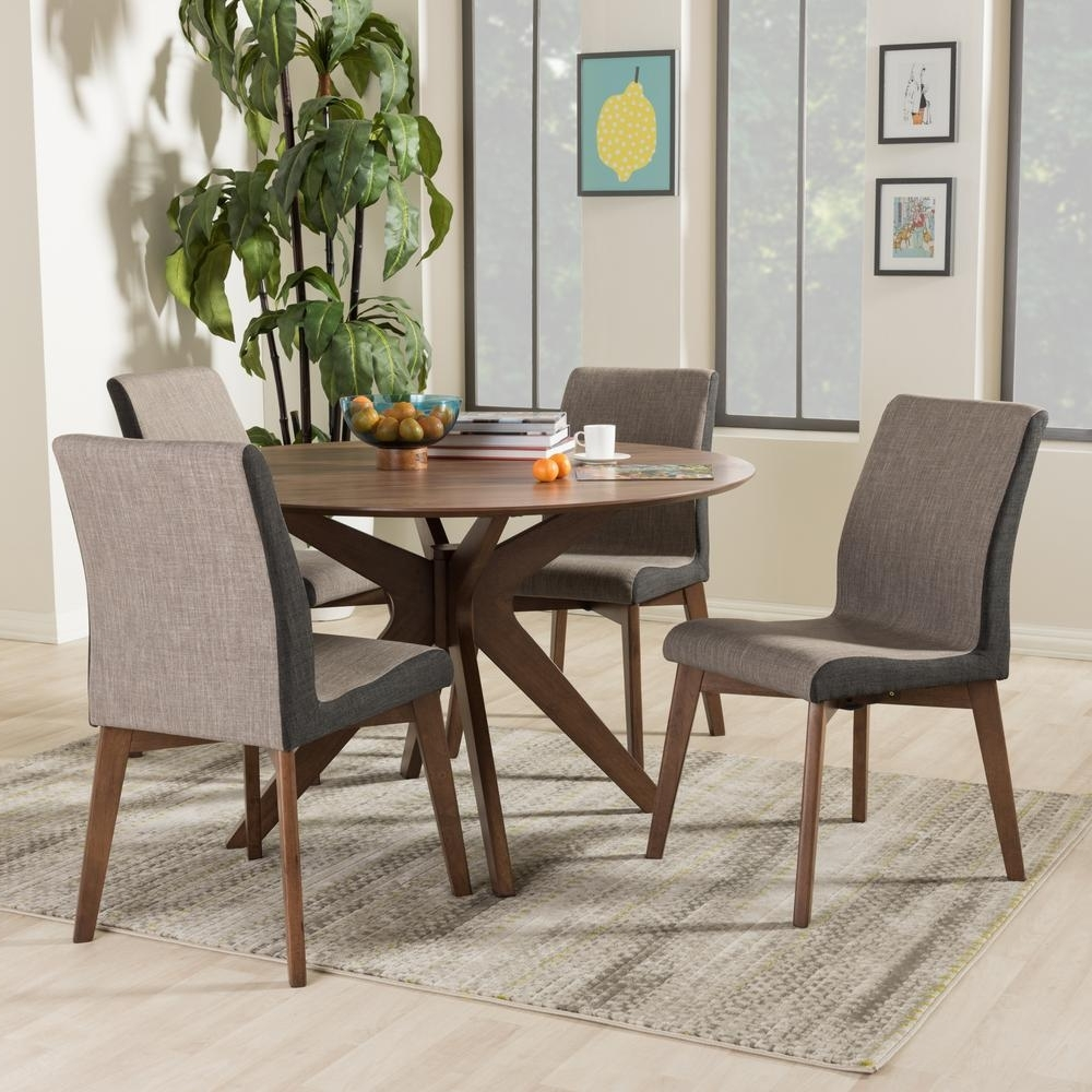 Gray – Dining Room Sets – Kitchen & Dining Room Furniture – The Home Throughout 2017 Walden 7 Piece Extension Dining Sets (View 21 of 25)